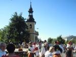 Svěcení zvonu v Březcích