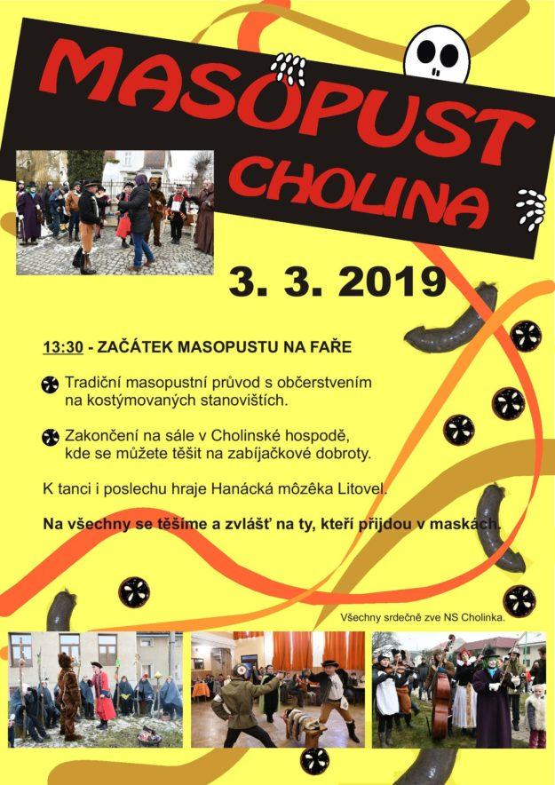 Masopust Cholina 2019